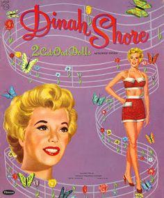 Dinah Shore 1954 Whitman #2042 - Bobe - Álbumes web de Picasa