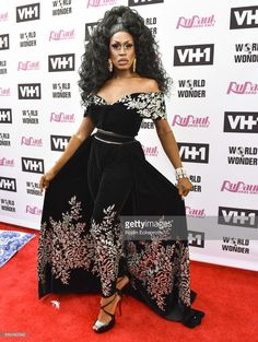 Contestant Shea Coulee attends 'RuPaul's Drag Race' Season 9 Finale Taping at Alex Theatre on June 9, 2017 in Glendale, California.