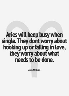 #aries. this is true