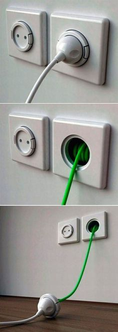 Hides away electrical cords which helps create a safe environment - Brad Read Design Group Pty Ltd.