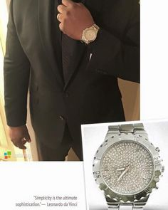 Limited Time!!! Men's Bling Watches & Cuff Links. Get yours today before they sell out again.