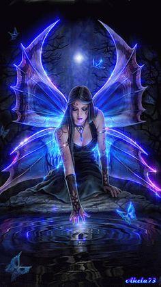 3633 Fantasy Gifs - Gif Abyss - Page 2 Fantasy World, Dark Fantasy, Elfen Fantasy, Fairy Pictures, Gothic Fairy, Fantasy Kunst, Beautiful Fairies, Fairy Art, Magic Fairy
