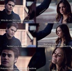 "#TVD 5x20 ""What Lies Beneath"" - Stefan and Elena"