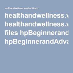 healthandwellness.vanderbilt.edu files hpBeginnerandAdvancedCoreExercises.pdf