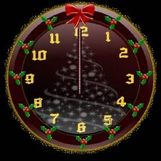 Christmas Garage Door Covers 3d Banners Christmas Clock Time ...