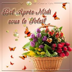 Bel Après Midi, Happy Friendship Day, Happy Day, French Quotes, Morning Messages, Images Photos, Annie, Zen, Gifs