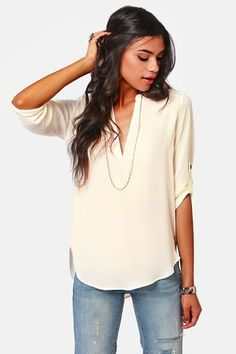 This creamy top is just fantastic!!
