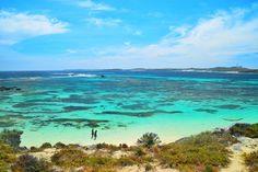 Turquoise Aqua dreaming. Little Salmon bay Rottnest Island!  by happymatty747 http://ift.tt/1L5GqLp