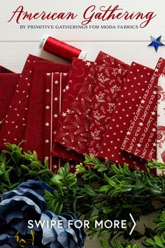 American Gathering is a beautiful patriotic collection by Primitive Gatherings for Moda Fabrics. Get this fabric by the yard for your next quilting project. Picnic Blanket, Outdoor Blanket, Primitive Gatherings, Shabby Fabrics, Old Glory, Quilting Projects, Quilts, American, Yard
