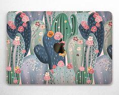 Bohemian Wallpaper, Of Wallpaper, Pattern Wallpaper, Wallpaper For Macbook Air, All You Need Is, Macbook Pro Skin, Watercolor Cactus, Cactus Blossoms, Apple Logo
