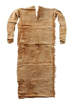 Pleated linen tunic, 6th-11th dynasty (2345–1991 BC), Egyptian.