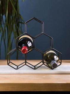 Black Wine Bottle Holder - Trouva