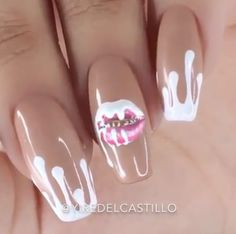 beauty, nails, and kylie cosmetics image