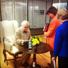 Charles Faudree at his book signing, submitted by @Fabricut Inc. Inc. on Instagram.