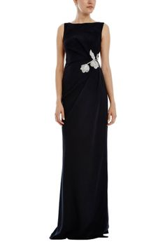 Freesia Draped Gown from RAOUL