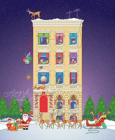Father Christmas, Before Christmas, Drawing Santa, How To Draw Santa, Get Reading, Big Night, Saint Nicholas, Holiday Decor, Drawings