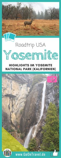 Bei meinem Roadtrip durch den Westen der USA stand der Besuch  des Yosemite National Park ganz weit oben auf der Liste. Vor allem wegen der Wasserfälle und der berühmten Mammutbäume. Doch das  UNESCO-Weltnaturerbe hat mich mit etwas Besonderem überrascht.  #RoadtripUSA #KalifornienimWinter #UrlaubimWinter