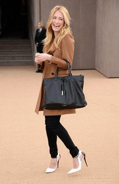 Cat Deeley at Burberry
