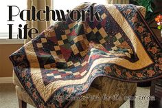 Patchwork Life QuiltTutorial on the Moda Bake Shop. http://www.modabakeshop.com