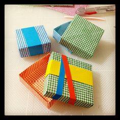 origami box  #origami - @chinhako- #webstagram