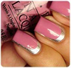 Pink/Gold trim