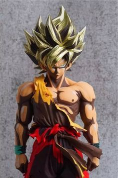 figurine figure dragon ball db fortune cat karin version or gold neuf new