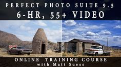 Learn how to use ON1's Perfect Photo Suite 9.5 in my 6-hr online photography course. Streaming & Downloadable versions available.