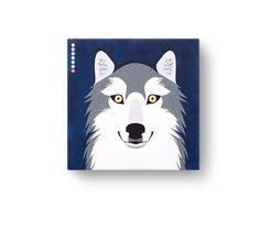 회색 늑대 / 이야기가 있는 그림, 멸종위기동물 캠페인