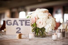 Table settings 19-Wedding, Park City Club, White & Blush wedding, travel themed wedding | Significant Events of Texas – Event & Wedding Coordination and Design