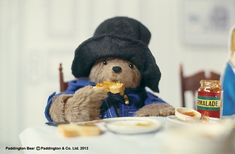 Mrs Bird never needs to ask Paddington what he'd like for breakfast.