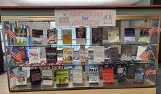 Bellevue University, Library Displays, Display Case, Politics, House, Glass Display Case, Display Window, Home, Haus