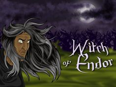 Free Bible Lesson Plans, Cartoons, and Puzzles for parents and teachers. Learn about the Witch of Endor, the danger of witchcraft, and King Saul. Have Fun Teaching, Fun Learning, Sabbath Lesson, Witch Of Endor, Bible Stories For Kids, Free Bible, Children's Bible, Witch House, Necromancer