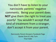 Narcissistic Parent Help Questions Answered!: Narcissistic Parents Are Negative!