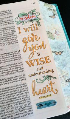 Bible Study Notebook, Bible Study Journal, Scripture Study, Bible Art, Bible Drawing, Bible Doodling, Inspirational Bible Quotes, Bible Notes, Faith Bible