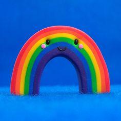 Kawaii Rainbow by Jenn and Tony Bot, via Flickr