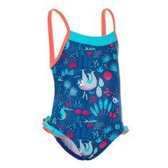 7c784846ab70e4 Decathlon / Maillot natation 1-pièce Kaipearl noir gauffré : 34.99 ...