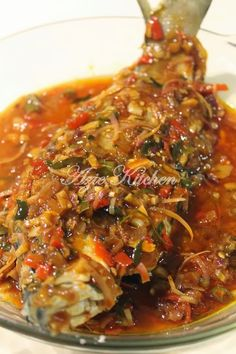 Azie Kitchen: Ikan Masak 3 Rasa -tried this, wonderful