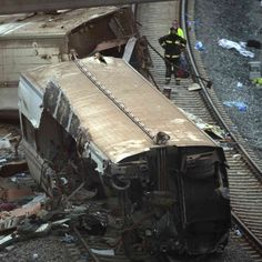 """Speed is suspected as a factor in Wednesday's derailment and crash. """"The scene is shocking, it's Dante-esque,"""" a local official says. Spanish, Scene, Train, Spanish Language, Spain, Strollers, Stage"""