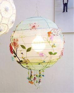 .. another pendant lamp diy idea