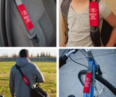 MedicAlert's new medical information wrap. Stores your health record & attached to seat belt, backpack, bicycle, etc. Only $10.00