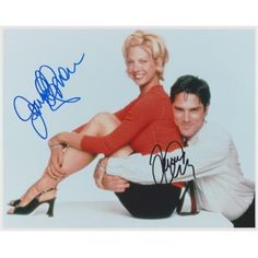 Jenna Elfman and Thomas Gibson have personally hand signed this inch Photo. The Date and Location this photo was signed will be on the REAL DEAL Memorabilia Certificate of Authenticity - COA and a Real Deal Hologram will be on the Photo.Get The Real Deal. Jenna Elfman, Thomas Gibson, Criminal Minds, Custom Framing, All In One, Tv Shows, Baseball Cards, Sports, Hologram