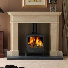 Carpathia Stone Fireplace Surround