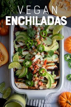 Factors You Need To Give Thought To When Selecting A Saucepan These Easy-To-Make Pumpkin And Black Bean Vegan Enchiladas Are Hearty, Flavorful, And Completely Plant-Based This Is A Make-Ahead Vegetarian Dinner That Even Meat-Eaters Will Love. Make Ahead Meals, Easy Meals, Soup Recipes, Vegan Recipes, Savory Pumpkin Recipes, Vegan Pumpkin, Muffins, Vegan Enchiladas, Dairy Free Diet