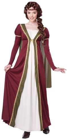 medieval maiden renaissance costume