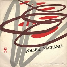 Vintage Polish album covers from 50 Watts