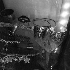 Some of my #rockstarsandbutchers #jewelry