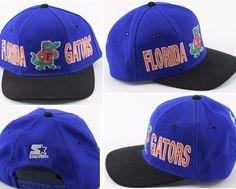 Vintage 90's Starter The Natural Florida Gators Snapback Hat 100% Wool Twill Cap | Sports Mem, Cards & Fan Shop, Fan Apparel & Souvenirs, College-NCAA | eBay!