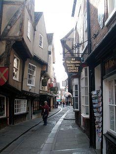 York, England-- My favorite stop when we toured through England.