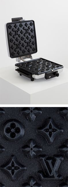 Louis Vuitton waffle maker by Andrew Lewicki