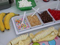 ice cream sundae bars